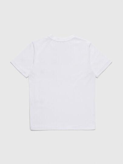 Diesel - TBMOW, Weiß/Rot - T-Shirts und Tops - Image 2