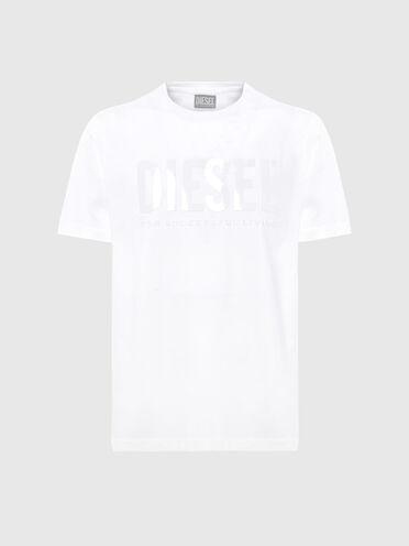 Nachhaltig hergestelltes T-Shirt mit farblich abgestimmtem Aufdruck