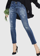 Krailey JoggJeans 069HA, Mittelblau - Jeans