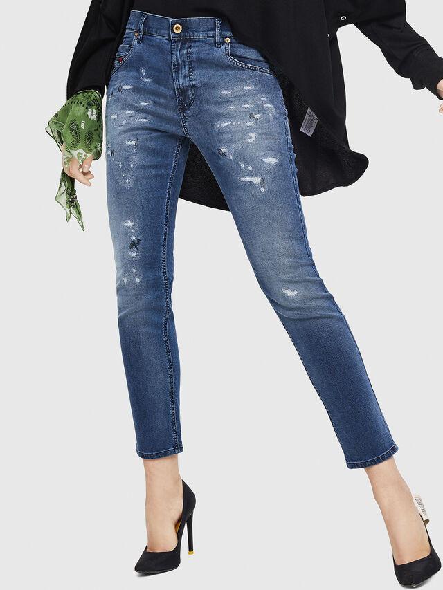 Diesel - Krailey JoggJeans 069HA, Mittelblau - Jeans - Image 1