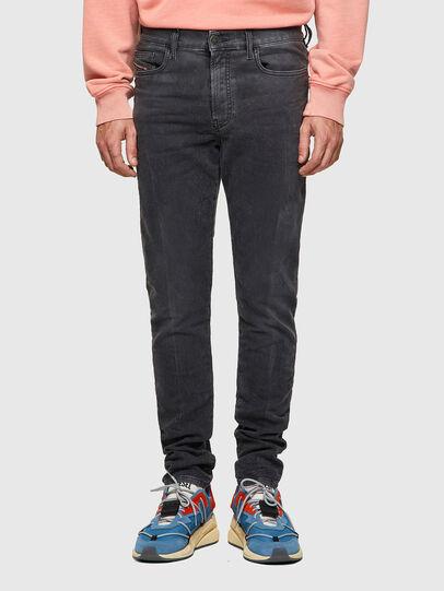 Diesel - D-Amny JoggJeans® 09A74, Schwarz/Dunkelgrau - Jeans - Image 1