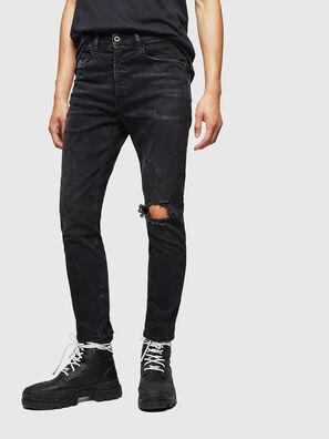 D-Eetar 069DV, Schwarz/Dunkelgrau - Jeans