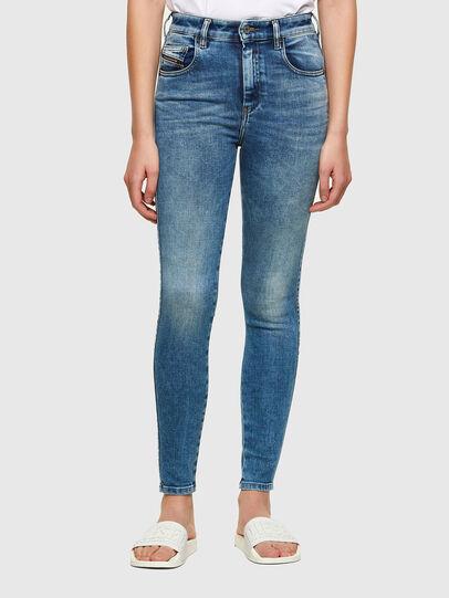 Diesel - Slandy High 009PT, Hellblau - Jeans - Image 1