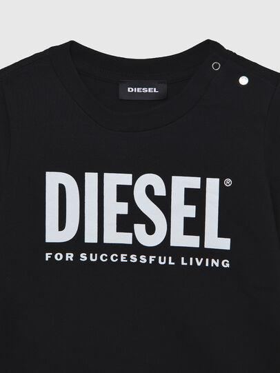 Diesel - TJUSTLOGOB ML, Schwarz - T-Shirts und Tops - Image 3