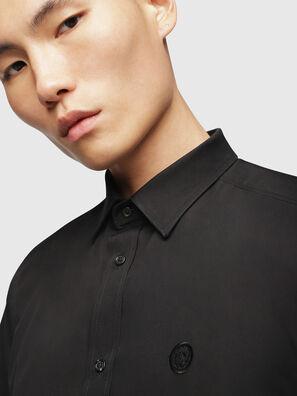 S-BILL, Schwarz - Hemden