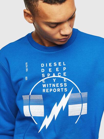Diesel - S-GIRK-J2, Blau - Sweatshirts - Image 3