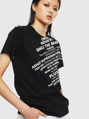 T-SILY-S1, Schwarz - T-Shirts