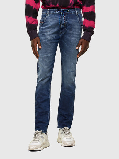Diesel - Krooley JoggJeans® 069SL, Dunkelblau - Jeans - Image 1