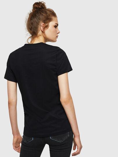 Diesel - T-SILY-WN, Schwarz - T-Shirts - Image 2