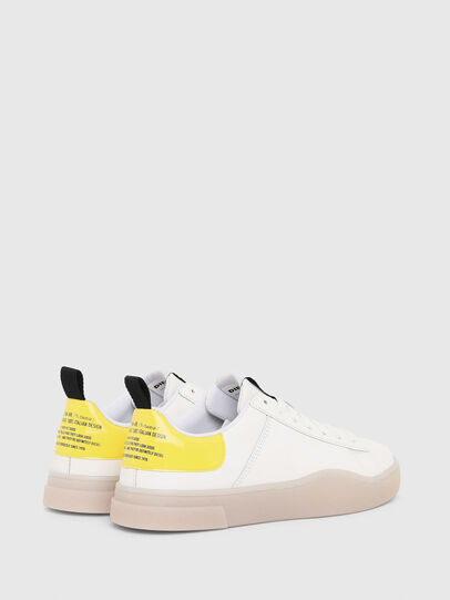 Diesel - S-CLEVER LOW LACE W, Weiß/Gelb - Sneakers - Image 3