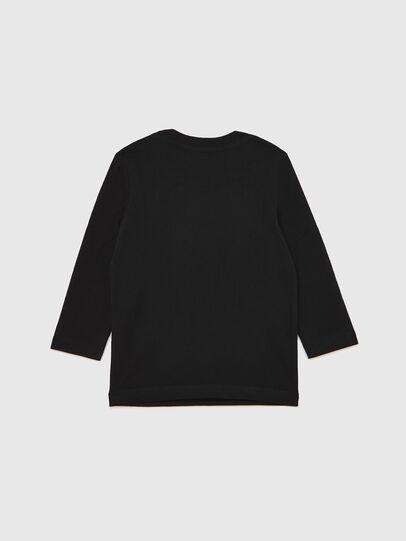 Diesel - TJUSTLOGOB ML-R, Schwarz - T-Shirts und Tops - Image 2