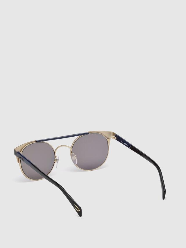 Diesel - DL0218, Schwarz/Blau - Sonnenbrille - Image 2