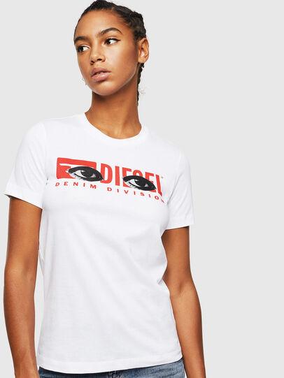 Diesel - T-SILY-YD, Weiß - T-Shirts - Image 1