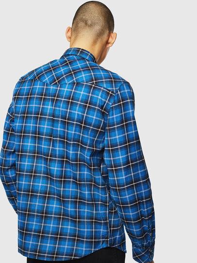 Diesel - S-EAST-LONG-N, Blau - Hemden - Image 2