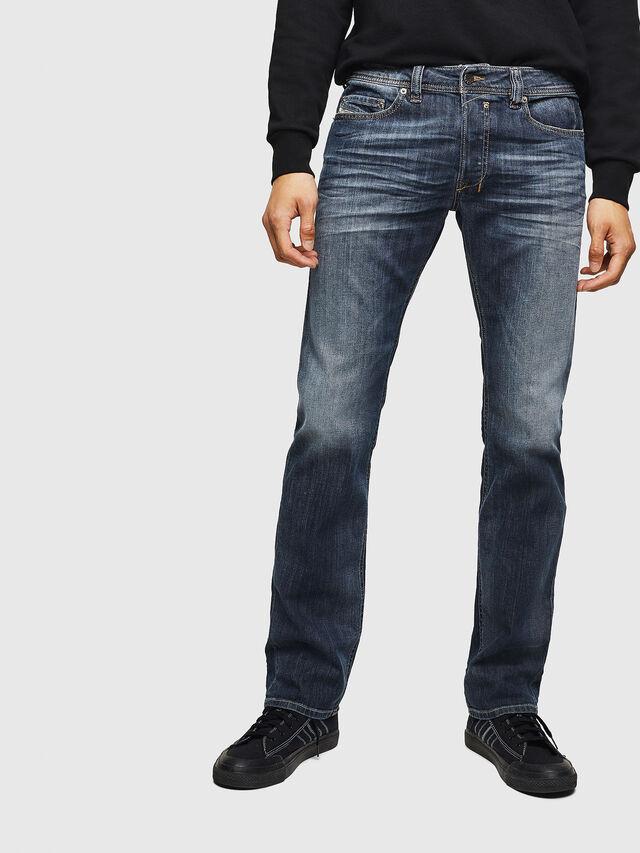 Diesel - Safado 0885K, Dunkelblau - Jeans - Image 1