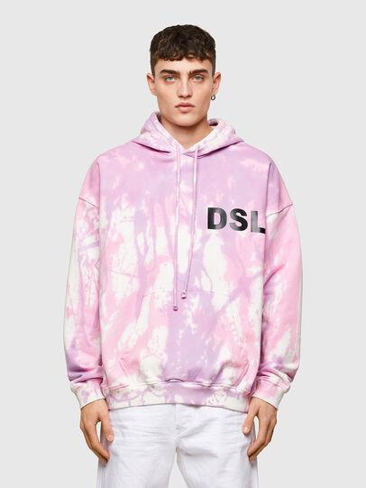 Diesel - S-UMMERIB-E1, Rosa - Sweatshirts - Image 1