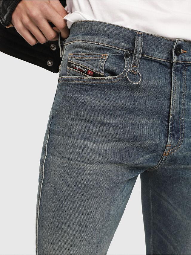 Diesel - D-Istort 085AZ, Mittelblau - Jeans - Image 3