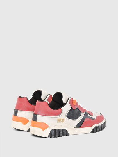 Diesel - S-RUA LOW SK, Weiss/Rot - Sneakers - Image 3