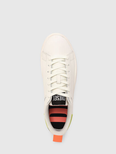 Diesel - S-CLEVER LOW LACE, Weiss/Gelb - Sneakers - Image 6