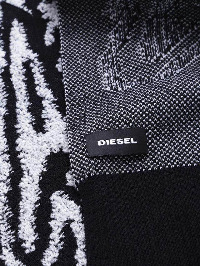 Diesel - K-VOXY, Schwarz/Weiß - Schals - Image 2