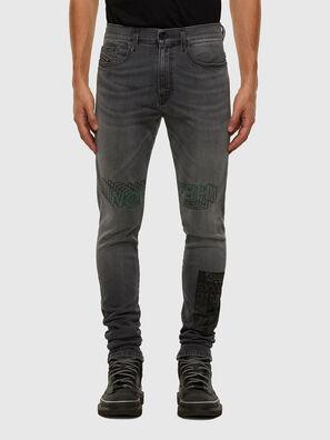 D-Amny 009GL, Schwarz/Dunkelgrau - Jeans