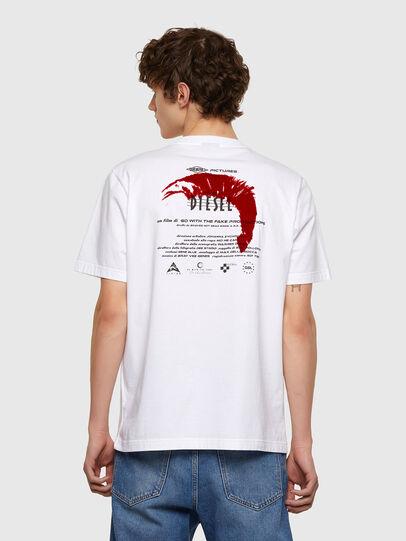 Diesel - T-JUST-E4, Weiß - T-Shirts - Image 2