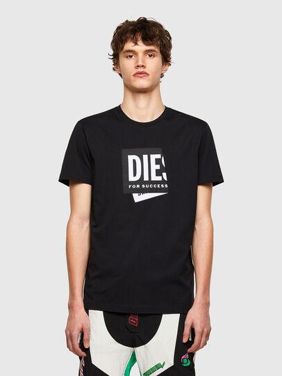 Diesel - T-DIEGOS-LAB, Schwarz - T-Shirts - Image 1