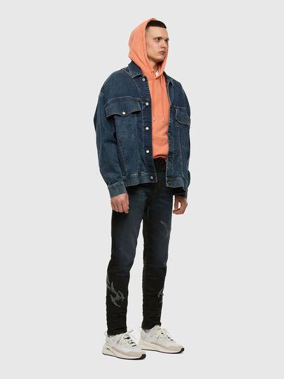 Diesel - D-VIDER JoggJeans® 009HE, Dunkelblau - Jeans - Image 7