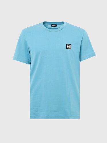 T-Shirt mit D-Logo-Patch