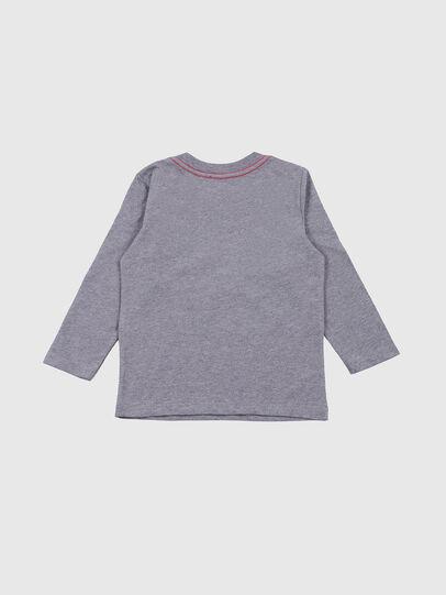 Diesel - TOQUEB-R, Grau - T-Shirts und Tops - Image 2