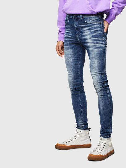 Diesel - D-Reeft JoggJeans 0096M, Dunkelblau - Jeans - Image 1