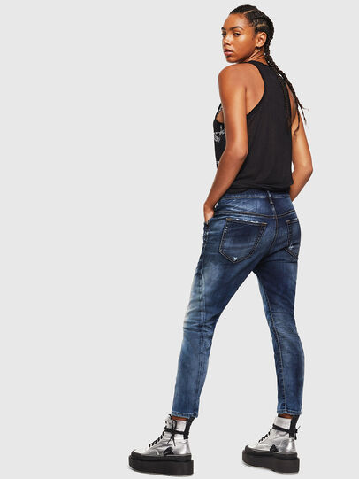 Diesel - Fayza JoggJeans 069KD, Dunkelblau - Jeans - Image 5