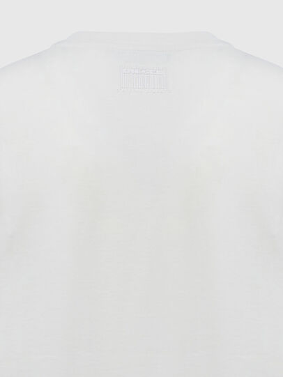 Diesel - T-SILY-E55, Weiß - T-Shirts - Image 4