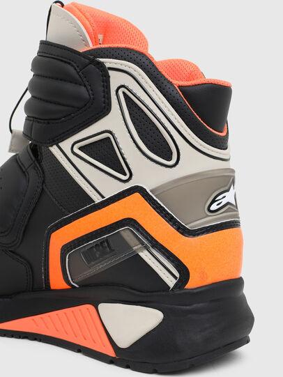 Diesel - ASTARS-SKBOOT, Schwarz/Orange - Sneakers - Image 6