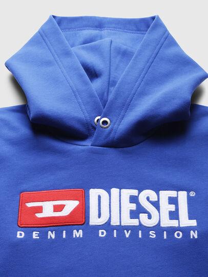 Diesel - SDIVISION OVER, Himmelblau - Sweatshirts - Image 3
