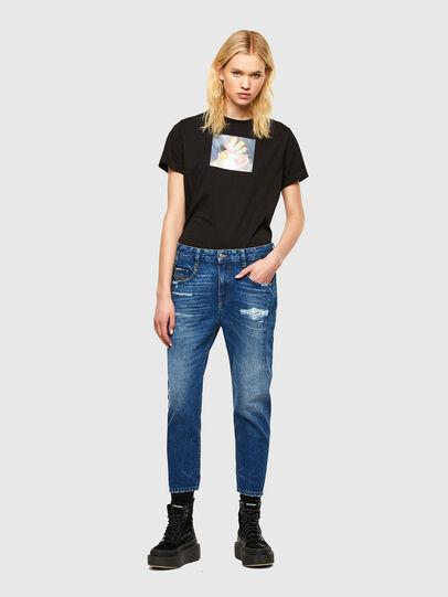 Diesel - Fayza 0079R, Mittelblau - Jeans - Image 5
