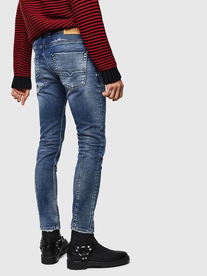 Diesel - Krooley JoggJeans 0096M, Dunkelblau - Jeans - Image 2