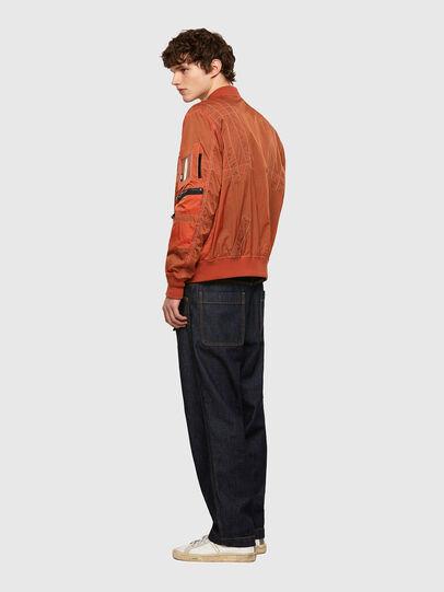Diesel - J-OLIVE, Orange - Jacken - Image 5