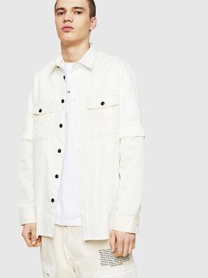 S-KOSOV, Weiß - Hemden