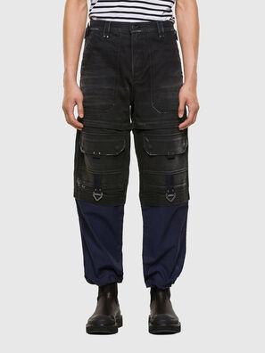 D-Multy 009KX, Schwarz/Blau - Jeans