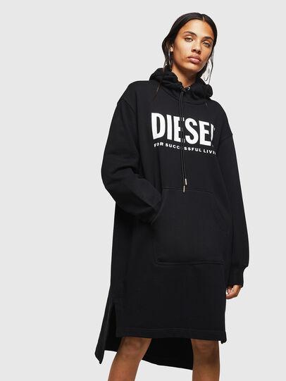 Diesel - D-ILSE-T, Schwarz - Kleider - Image 1