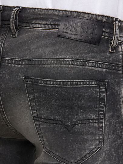 Diesel - Thommer JoggJeans® 009KC, Schwarz/Dunkelgrau - Jeans - Image 4