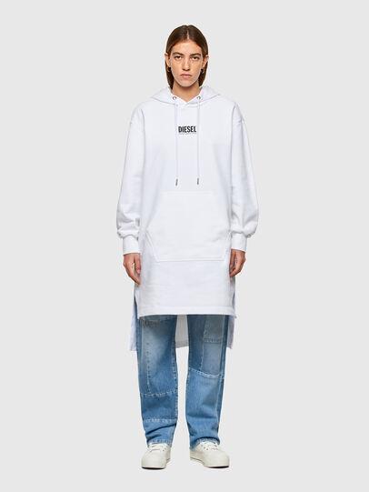 Diesel - D-ILSE-SMALLOGO, Weiß - Kleider - Image 1