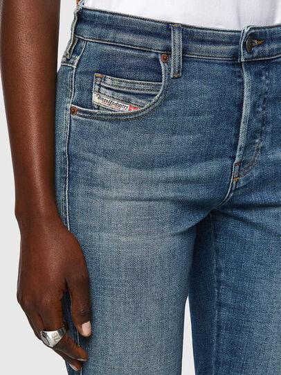 Diesel - Babhila 09A01, Mittelblau - Jeans - Image 4