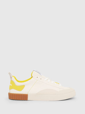 S-BULLY LC, Weiß/Gelb - Sneakers