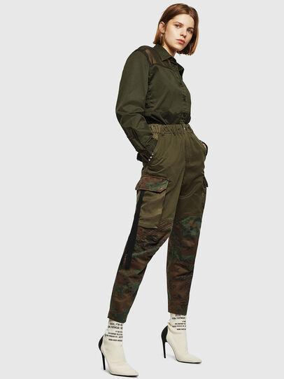 Diesel - P-THENA-A, Camouflagegrün - Hosen - Image 6