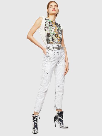 Diesel - T-DARIA-YB, Weiß - T-Shirts - Image 5