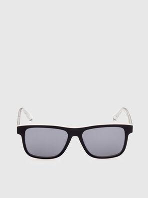 DL0279, Weiß/Orange - Sonnenbrille