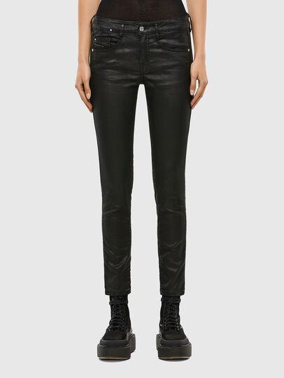 Diesel - D-Ollies JoggJeans® 069QJ, Schwarz/Dunkelgrau - Jeans - Image 1