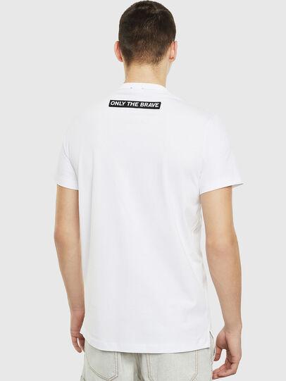 Diesel - T-WORKY-SLITS, Weiß - T-Shirts - Image 2